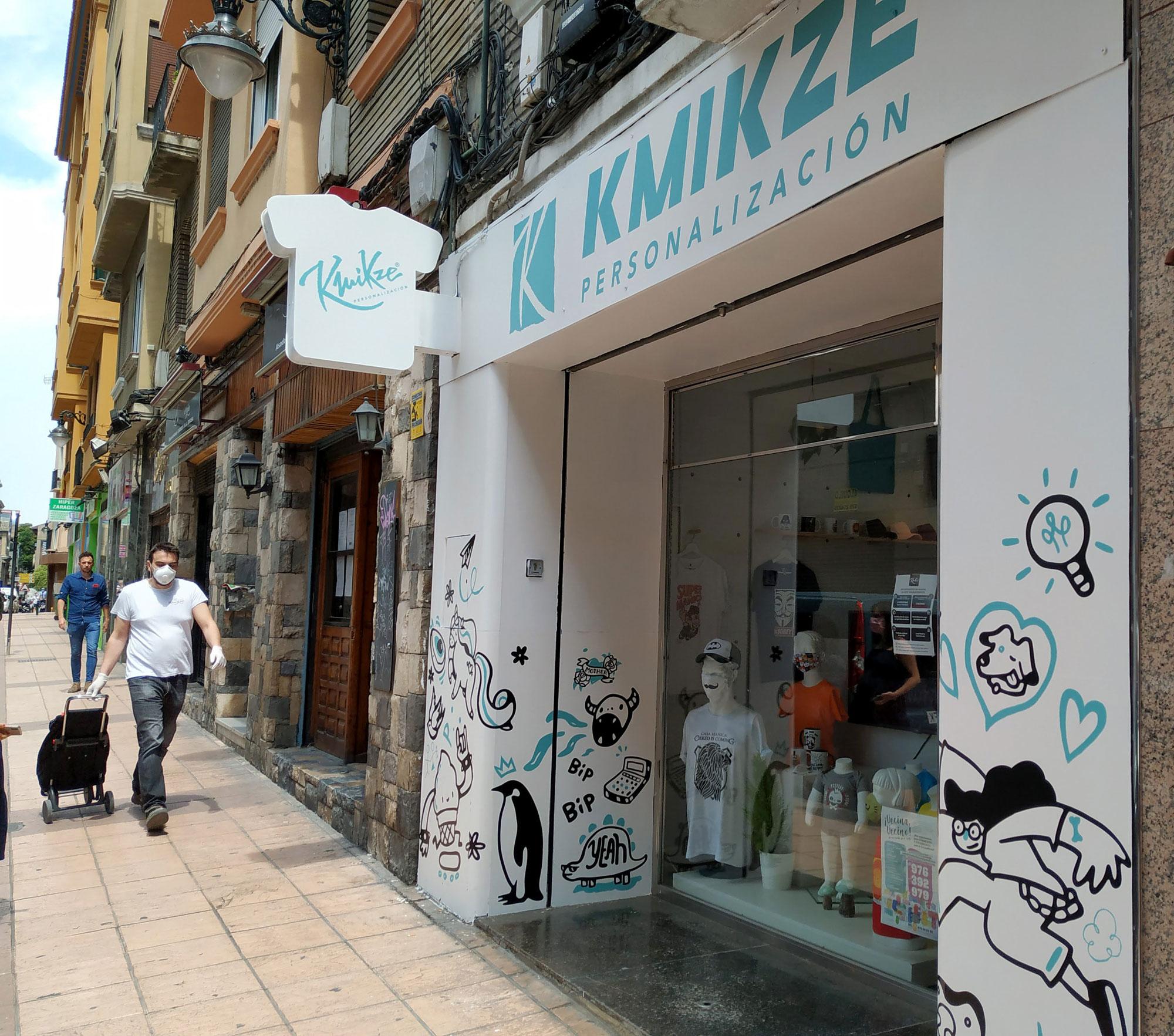 Productos de Zaragoza POP! en Kmikze