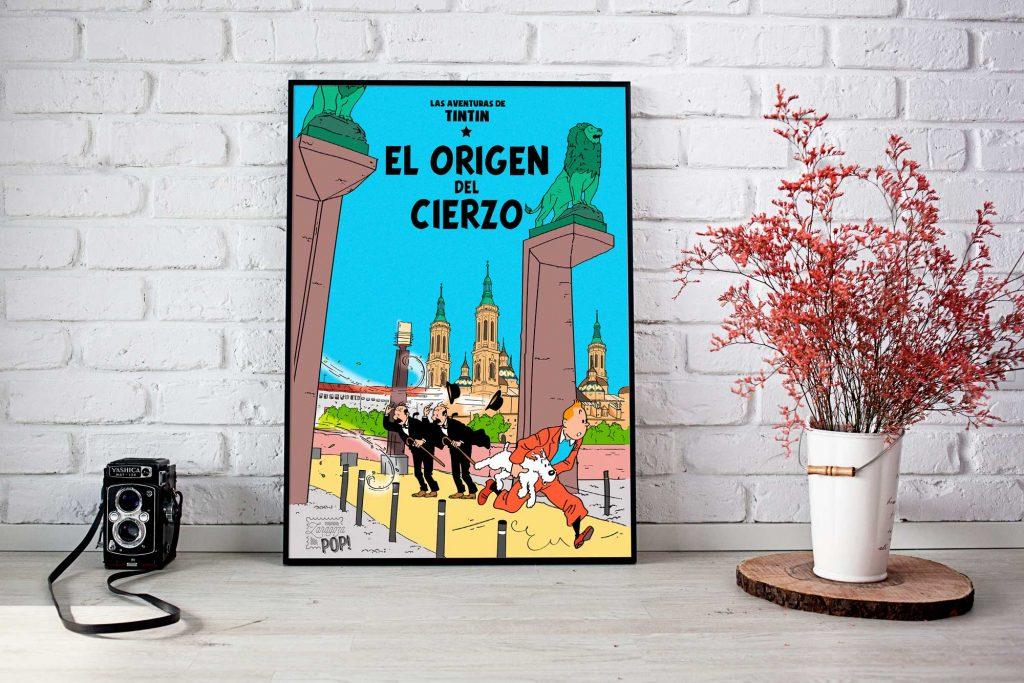 Titin y el origen del cierzo en el puente de piedra de Zaragoza
