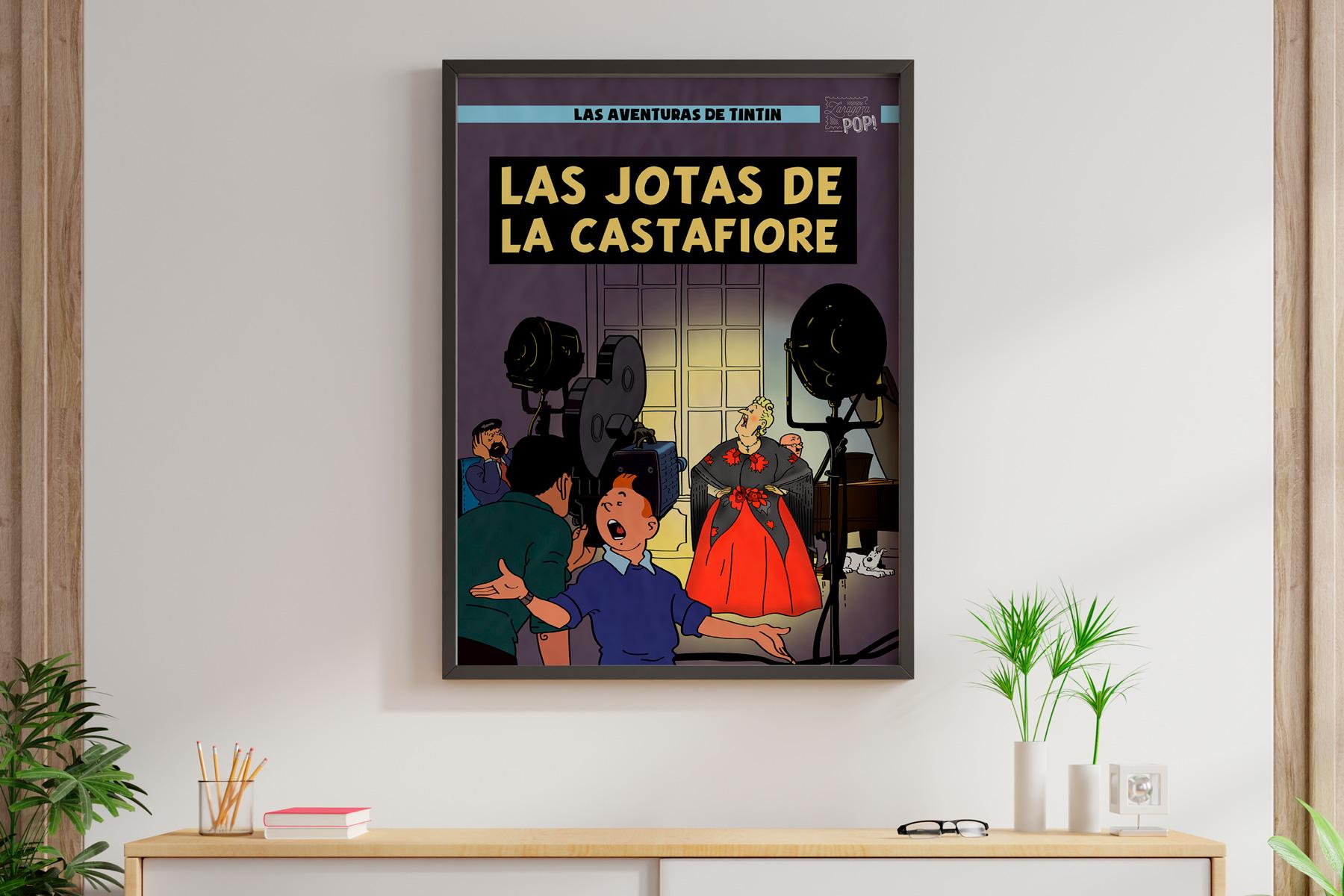 Las jotas de la Castafiore TINTIN en Zaragoza