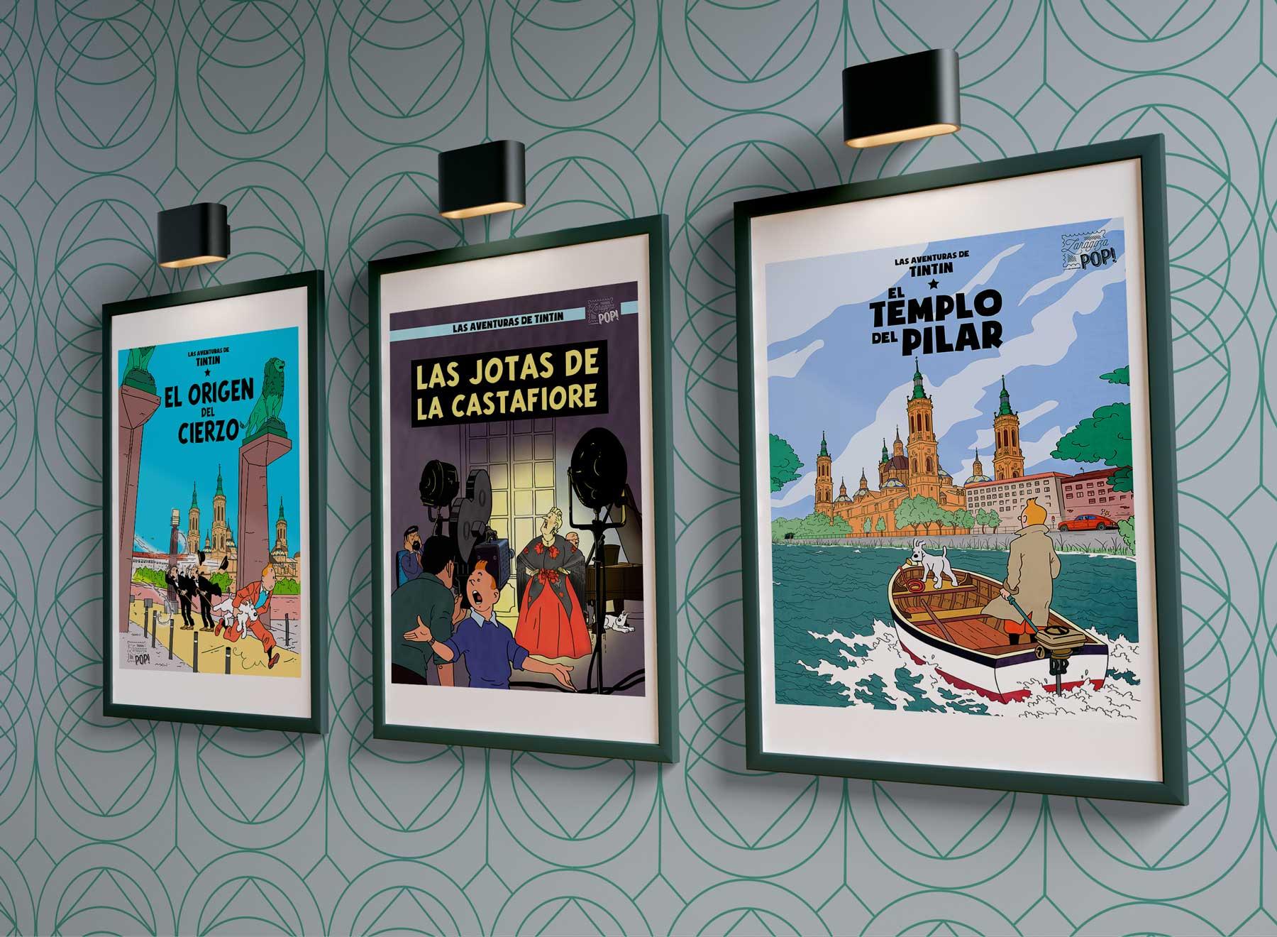 Coleccion láminas de TITIN en Zaragoza