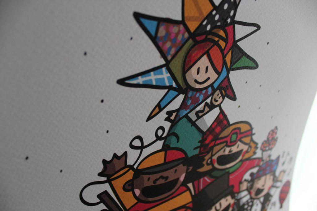 Ilustraciones de Zaragoza POP! Virgen del Pilar