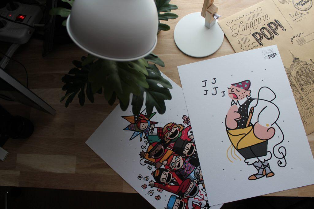 Ilustraciones de Zaragoza POP!