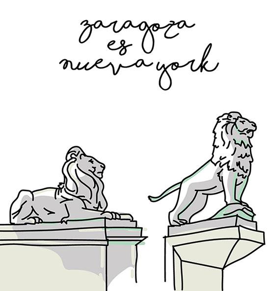 Zaragoza es Nueva York